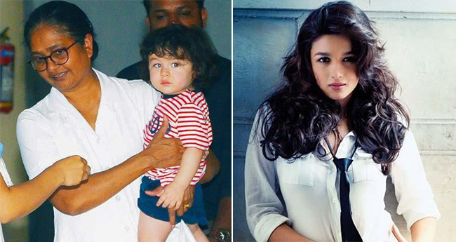 Alia Bhatt Wants To Spy On Kareena's Son Taimur Because He's Adorably Cute
