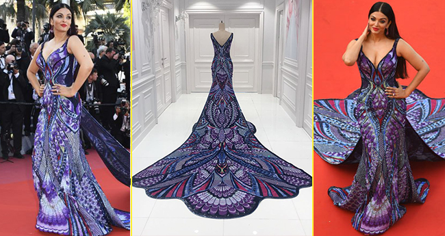 Aishwarya's Butterfly Gown at Cannes Took 3000 Hours To Make, Says designer Michael Cinco