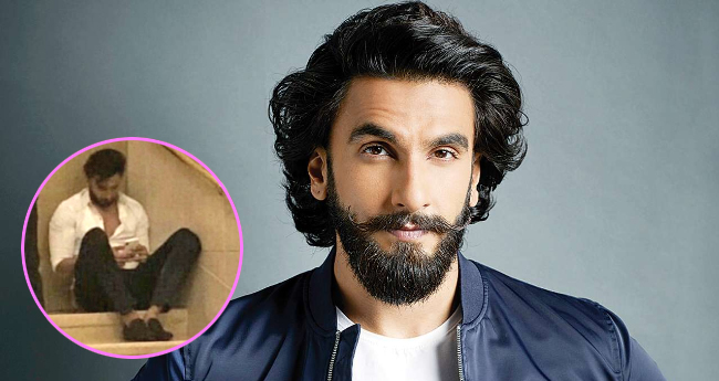 Ranveer Singh caught making a call to Deepika, missed the actress at Sonam Kapoor's wedding