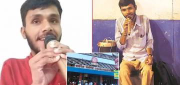 25-YO Navin Sings Regularly Outside Churchgate To Keep His Vision Of Being A Singer Alive