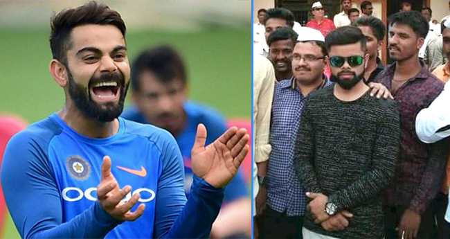 Political Rally Called To Have Virat Kohli In Campaign But He Is Lookalike Of The Cricketer