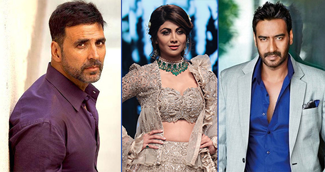 Shilpa Shetty Became A Scapegoat Of The Popular Akshay Kumar-Ajay Devgn Fight