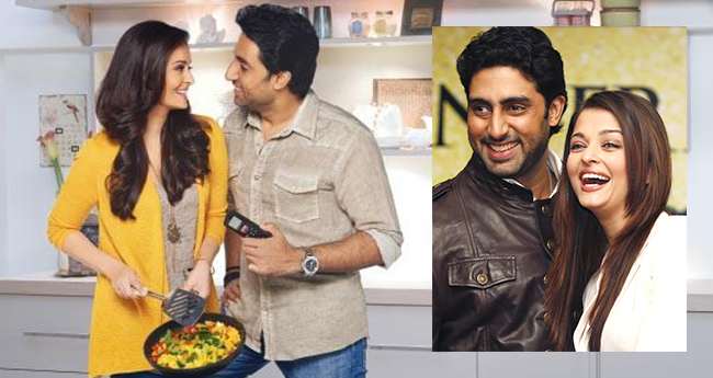 Aishwarya cooks lunch for Abhishek but he isn't too contented