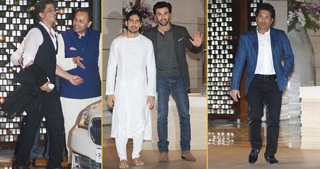 5 Celebs Who Missed Sonam Ki Shaadi Because They Were At Anitila Attending Isha Ambani's Engagement