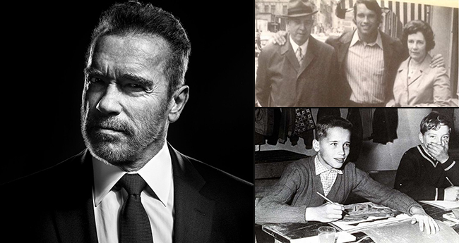 Hollywood sensation Arnold Schwarzenneger is a blend of Brains, Brawn and Body