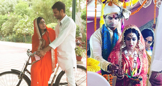Pic: Newlyweds Tej Pratap Yadav And Wife Aishwarya Rai Go On A Romantic Bicycle Ride
