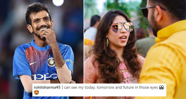 Rohit Sharma's Instagram Is Full Of Romantic Pictures But Yuzvendra Chahal Makes Fun Of Him