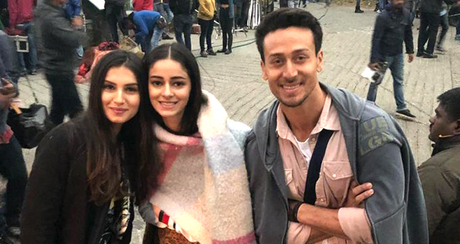 SOTY2: Tiger Shroff, Ananya Panday and Tara Sutaria Chilling In The Cold Climate Of Mussourie