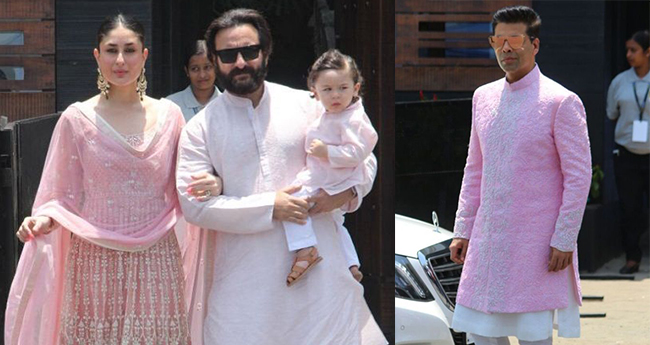 Pics: This Is How Men Rocked In Pink At Sonam-Anand's Wedding Ceremony