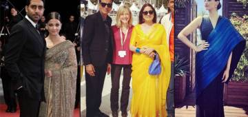 When Bollywood Celebs Spread Their Charm Of Indian Culture On The Red Carpet At Cannes