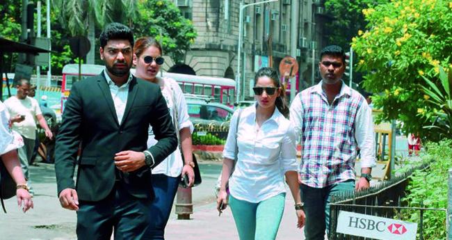 Yami Gautam Visits Bombay High Court For Batti Gul Meter Chalu