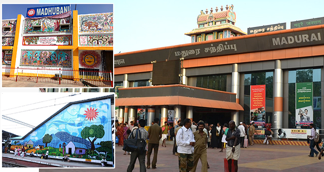 Indian Railways Awarded Different Railway Stations In The Country With 'Most Beautiful Award'