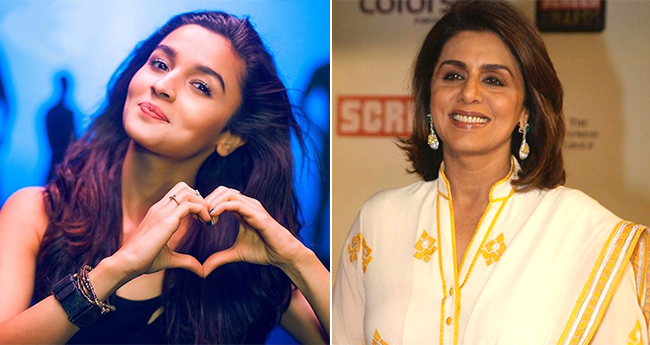 Ranbir's Mom Neetu Comments On Alia's Photo, The Actress' Reply Is Just Too Cute
