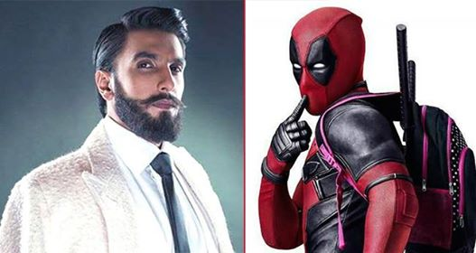 Ranveer Singh finally dubs for the Hindi version of Deadpool 2; trailer to be out today