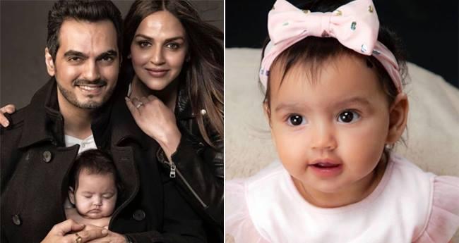 Esha Deol's Little Princess Radhya Takhtani's First Glimpse Will Take Away Your Monday Blues