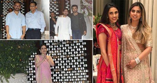 Pics: Celebs spotted at Anitila for Isha Ambani's engagement ceremony