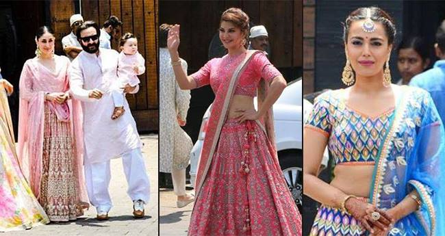 Pics: Jacqueline, Swara, Kareena-Saif Among Others Arrive At The Wedding Venue
