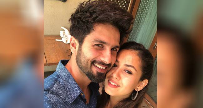 Mira rajput and Shahid kapoor are head to toe in love, a latest picture proves it