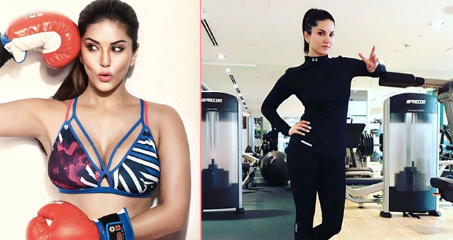 Pics: Sunny Leone's  exercise sessions are really awesome and breathtaking