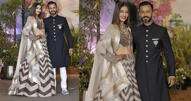 Anand Ahuja wears sneakers for his wedding reception, shows his love towards Nike shoes