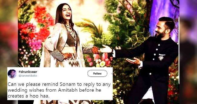 Internet is flooded with Sonam Kapoor-Anand Ahuja's wedding news; Twitterati's are reacting