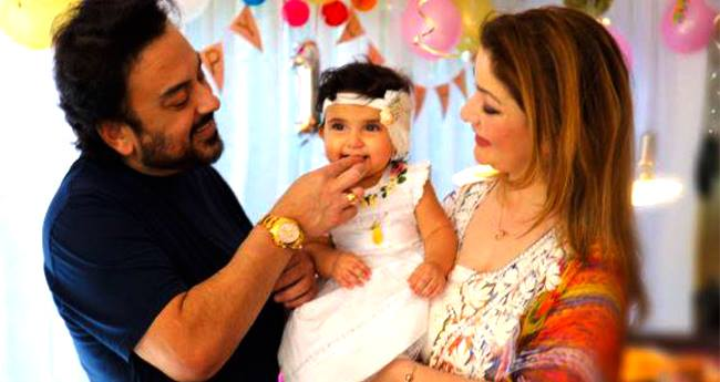 Adnan Sami Rings Daughter Medina's 1st birthday In Germany And The Pics Are Just Wow