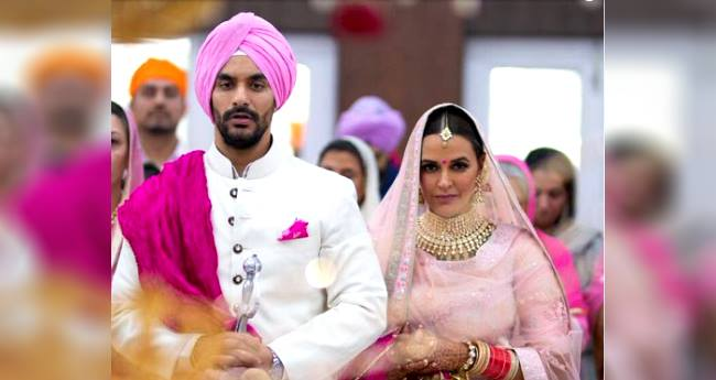 Congratulations! Neha Dhupia Gets Married To Her Long Time Best Friend Angad Bedi, Pics Are Beautiful