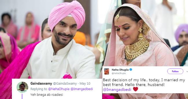 Angad-Neha's Marriage Shocked Everyone! Here's How Bollywood Celebs And Tweeps Reacted
