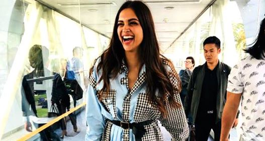 Pic: Deepika Padukone Makes A Stylish Touchdown For Cannes 2018