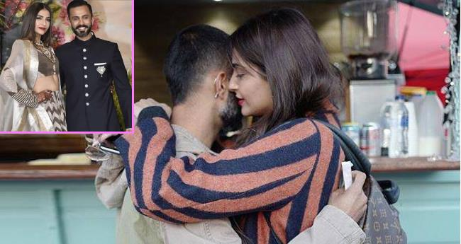 Pics: Anand Ahuja Shares Adorable Pics With Wife Sonam Which Will Make Your Day