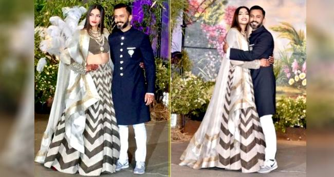 Sonam Kapoor Reveals Why Husband Anand Ahuja Wore Sneakers On His Wedding Reception