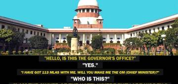 Jokes On Karnataka Has Now Reached The Apex Court, Twitter Has Hilarious Take On This