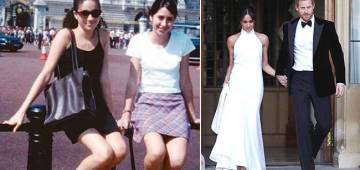 This TB Pic Of 15 YO Meghan Markle At Outside Buckingham Palace Proves Dreams Do Come True