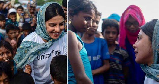 Pics: Priyanka Chopra visits Rohingya refugee camps in Bangladesh for UNICEF
