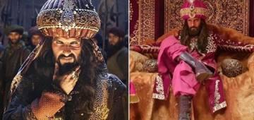 Pic and Video: Ravi Dubey looks exactly like Ranveer Singh from Padmaavat as Alauddin Khilji