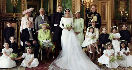 Pics: First Official Wedding Photos of Prince Harry and Meghan Markle Released By Royals