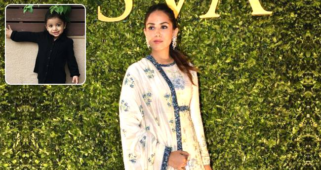 Mira Rajput Shares A Super Adorable Pic Of Misha, Says She Is Growing Faster
