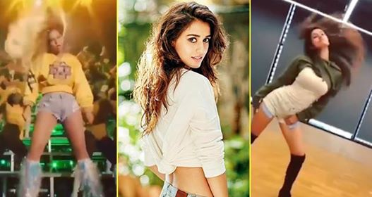 Video: Disha Patani sizzles by matching Beyonce's dance steps, gives a tribute to her