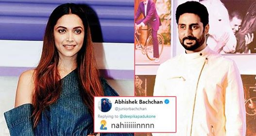 The Broccoli Dispute Between Abhishek And Deepika Is Too Funny To Be Missed