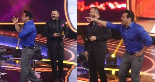 Video: Salman Khan Bursts Into Laughter When He Is Made To Watch The Spoof of Race 3 Trailer