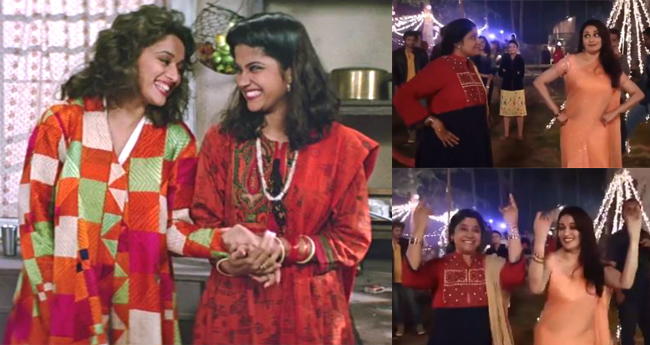 Madhuri Dixit And Renuka Shahane Dancing On Lo Chali Main Is The Best Thing You Watch Today