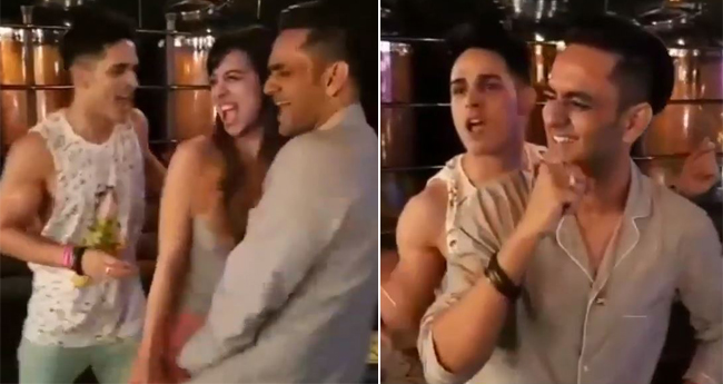 Video: Bigg Boss 11's Priyank, Benafsha, Vikas Dances On Sapna Chaudhary's Song At Pajama Party