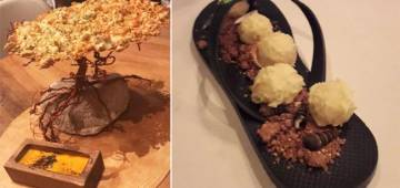 Restaurant Serves Food In Slippers And Washbasins! Hoards Of Customers Prefer This Place