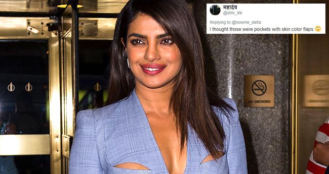 Priyanka Chopra Slays Stylish Safari Suit But It Seems Desi Twitteratis Don't Like It