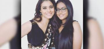 Kajol Joined By Her Daughter Nysa On The Red Carpet Of Madame Tussauds