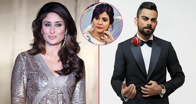Kareena Kapoor expresses her fondness for Anushka Sharma's hubby Virat Kohli