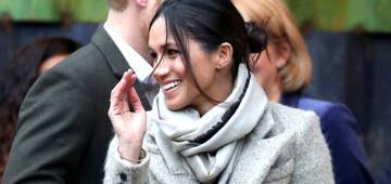 Meghan Markle's Dress Post Wedding Crashes A Fashion Website Within Minutes