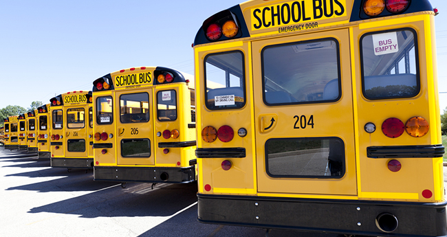 The Reason Behind School Buses Being Painted Yellow