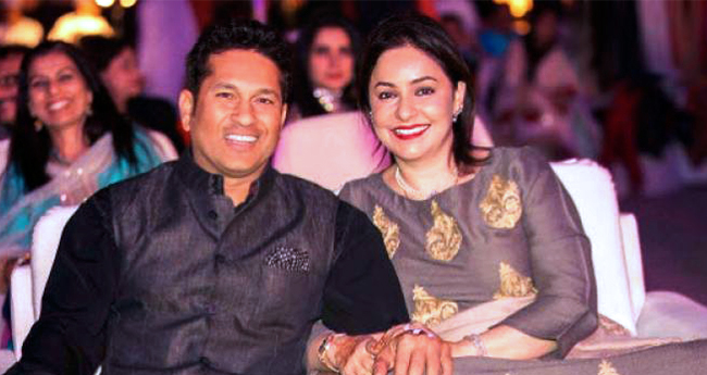 There's a reason why Sachin Tendulkar's wife was never spotted at the tadium to watch his match
