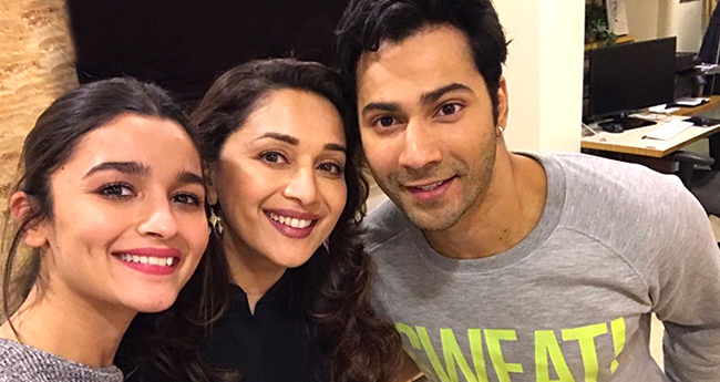 Alia Bhatt Says She Is Blessed To Be Working With Madhuri Dixit In Kalank